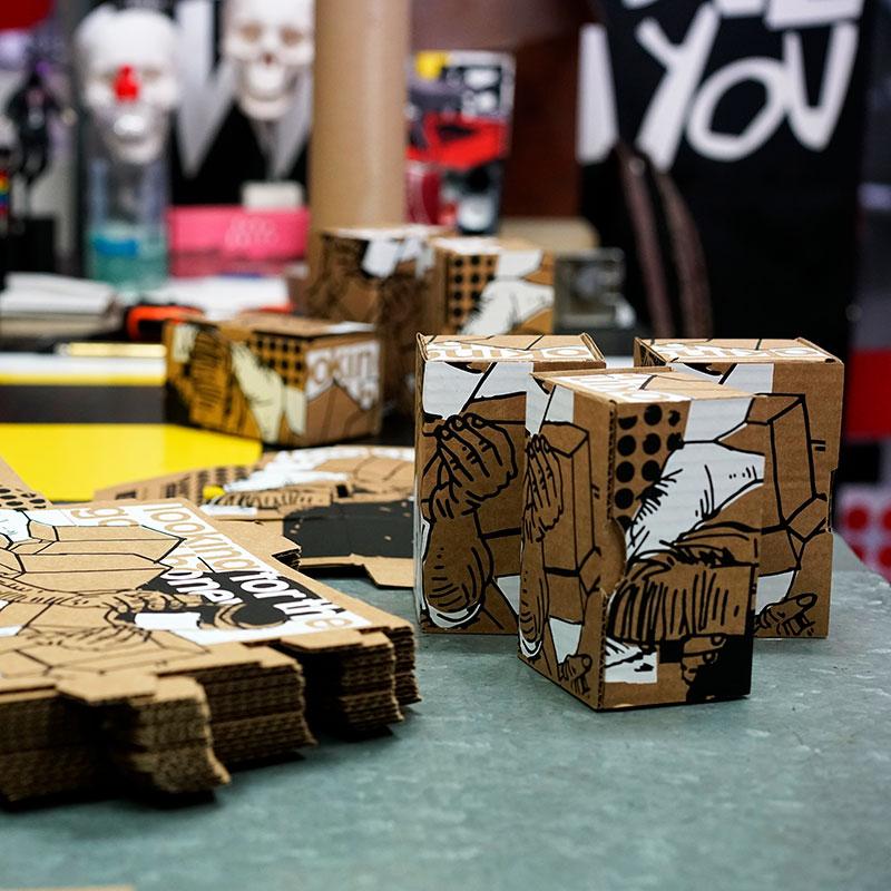 Taller de El Manchas. Proyecto Creative Honey. Miel de la Marquesa