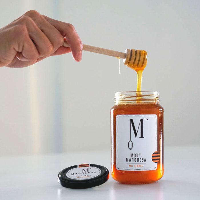 Miel de la Marquesa. Miel de Mil Flores con Tomillo