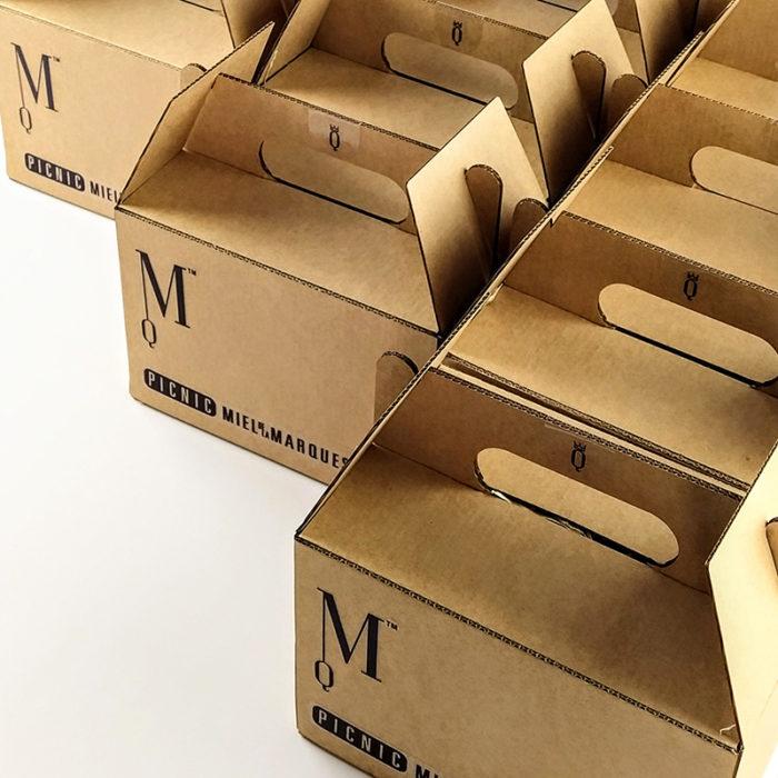 Cajas de Picnic Miel de la Marquesa
